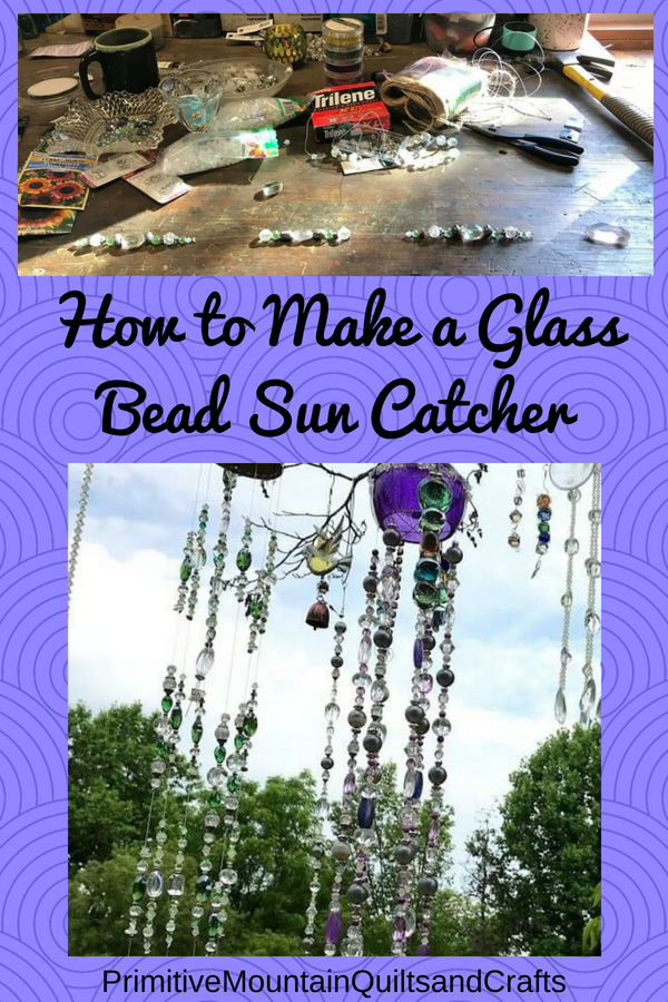 How to Make a Glass Bead Sun Catcher