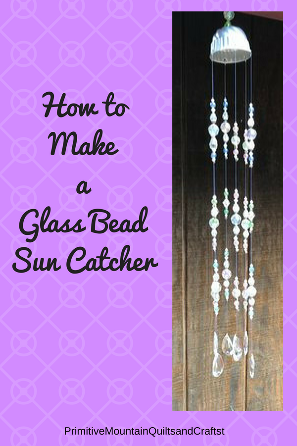 How to Make a Glass Bead Sun Catcher