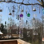 sun catchers in tress