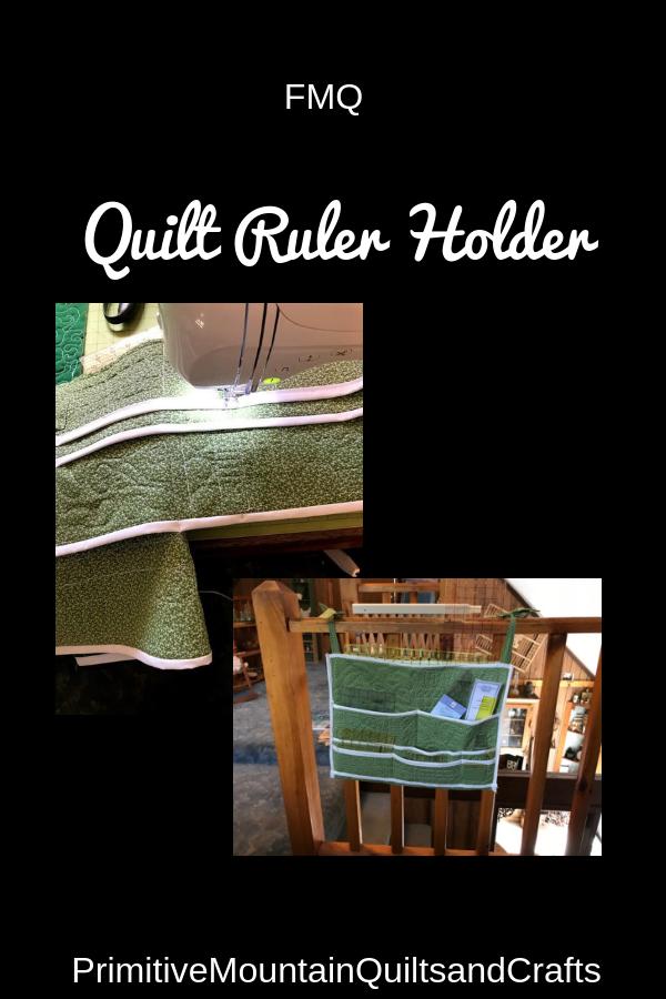 FMQ Quilt Ruler Holder