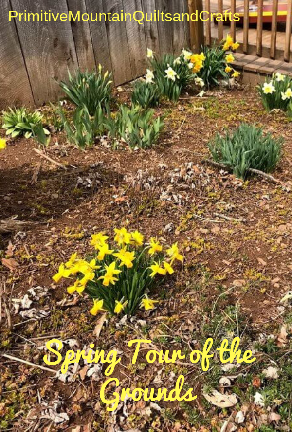 Spring Tour of the Grounds