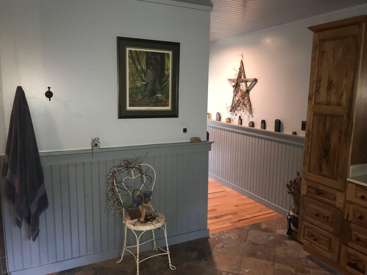Primitive Decoration In The Bathroom Primitive Mountain