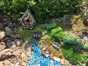 in fairy garden