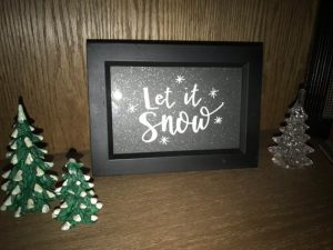 Let it Snow Frame