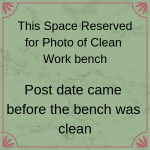 post date came before bench was clean