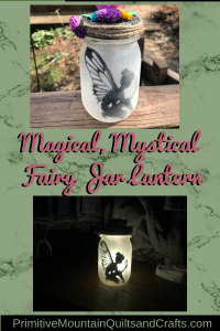 Magical, Mystical Fairy Jar Lantern