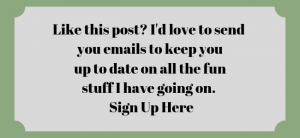 Like this post_ I'd love to send you emails to keep you up to date on all the fun stuff I have going on. Sign up here (1)