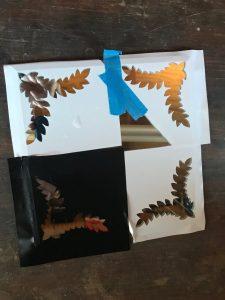mirror etching