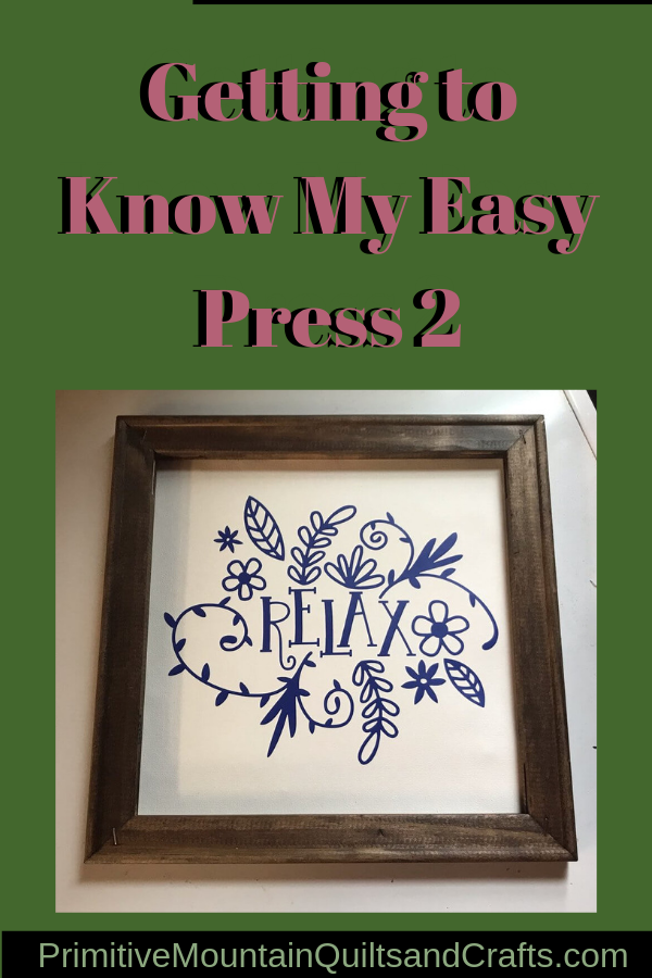Getting to Know My Easy Press 2
