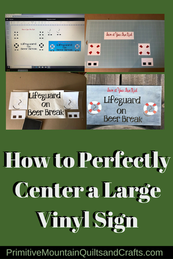 How to Perfectly Center a Large Vinyl Sign