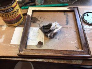 staining frame