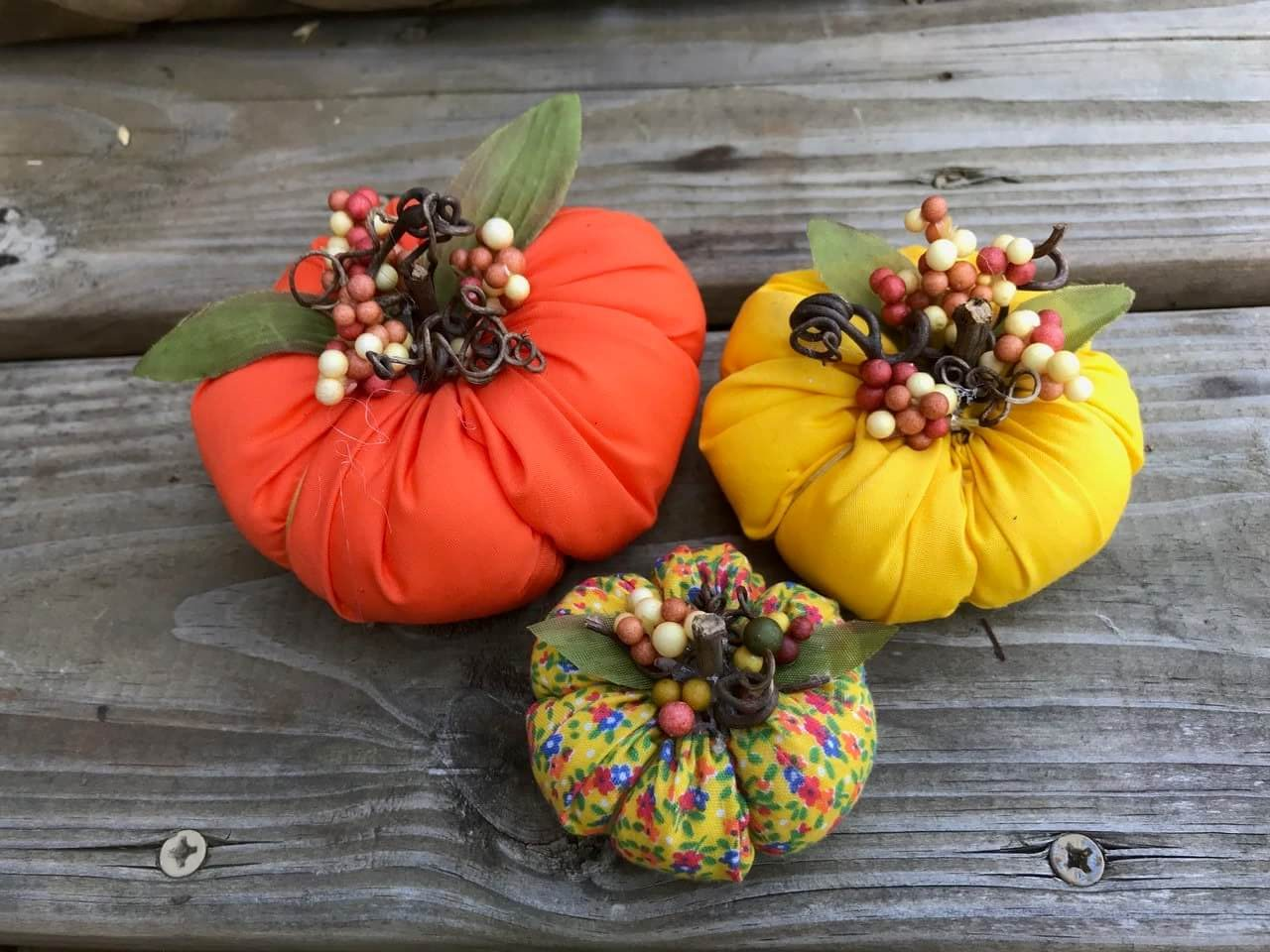 How To Make A Fabric Pumpkin With Cricut Maker