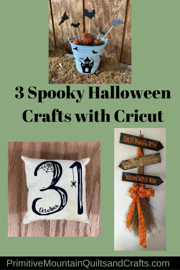 3 Spooky Halloween Crafts with Cricut